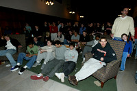 PU MBB NCAA selection show, 2004